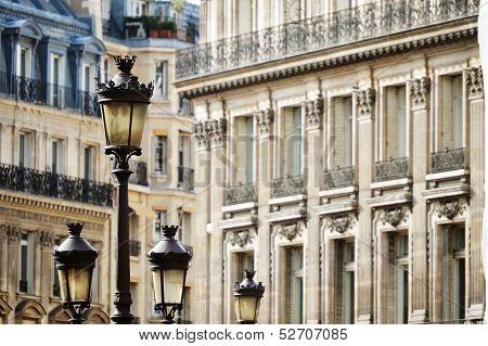 Original Historic Parisian Architecture