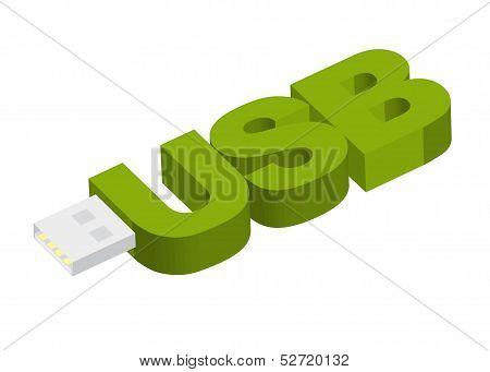 USB drive key