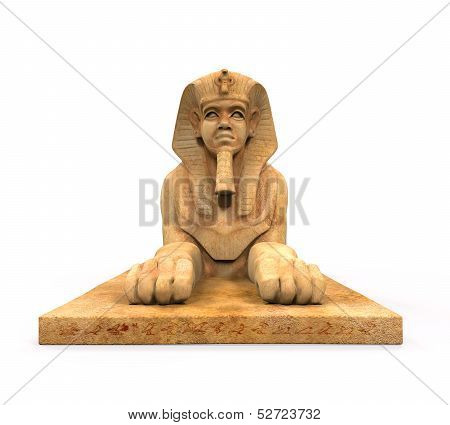Egyptian Sphinx Statue