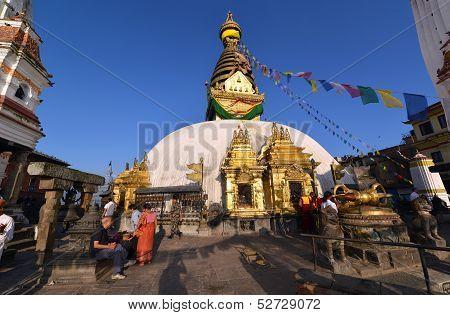 Swayambhunath stupa, Nepal