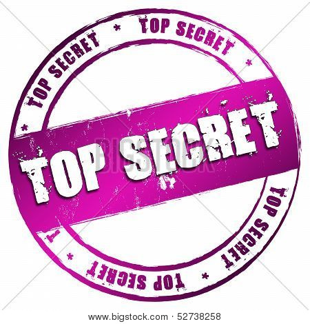 New Stamp - Top Secret