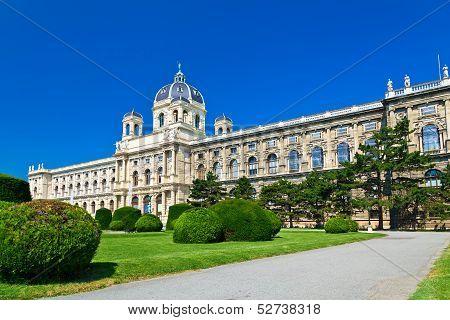 The Kunsthistorisches Museum In Vienna