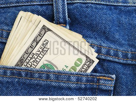 Dollars In A Pocket