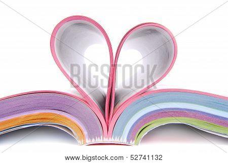 catalogue folded heart
