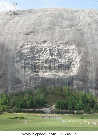 Stone Mountain Park in Georgia