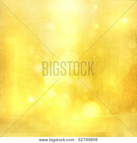 Gold Festive Background
