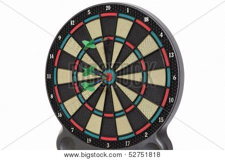 Darts game, 110 points