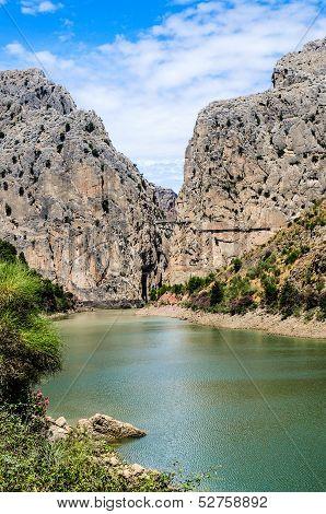 Gorge Of The Gaitanes, Malaga Province, Andalusia, Spain
