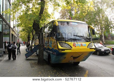 River Ride - Floating Bus sightseeing on land and water