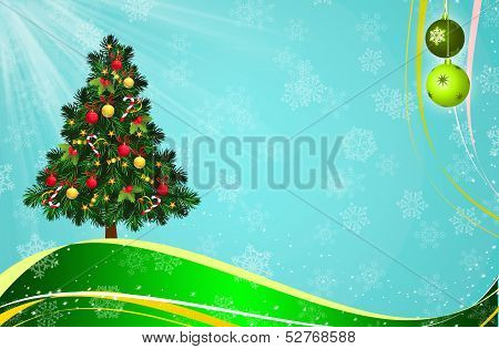 christmast garden template