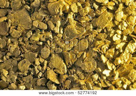 Background Gold Glitter