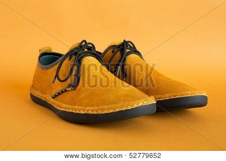 male modern style moccasin