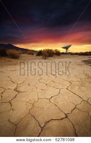 Owens Valley Radio Observatory near Bishop