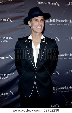 NEW YORK- OCT 22: Recording artist Perry Farrell attends the T.J. Martell Foundation's 38th Annual Honors Gala at Cipriani's on October 22, 2013 in New York City.