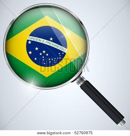 Nsa Usa Government Spy Program Country Brazil