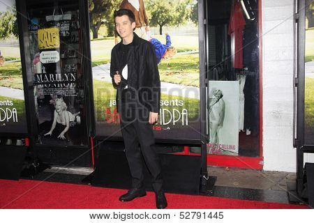 LOS ANGELES - OCT 23: Asa Butterfield at the Premiere of