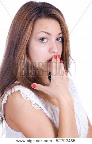 Suprised Pretty Woman