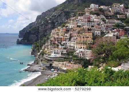 Positano At The Amalfi Coast