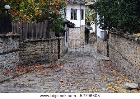 Narrow Street In Lovech