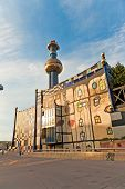 District Heating Vienna Of Hundertwasser Forms