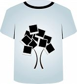 T Shirt Template- tree