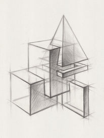 picture of parallelepiped  - Illustration of Geometric Shapes - JPG