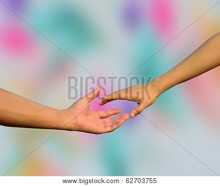 Stretch Your Hand For Someone To Help, Handshaking, Hands Shaking