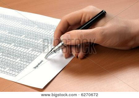 Hand Sign Document