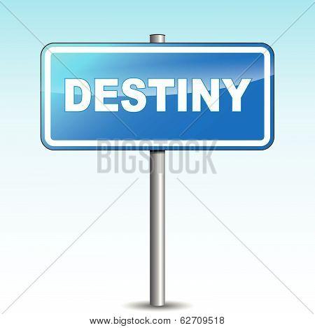 Vector Destiny Signpost