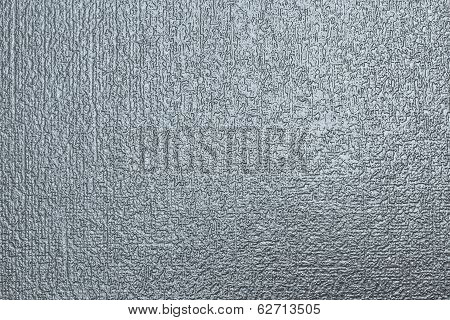 texture glossy surface of silvery color