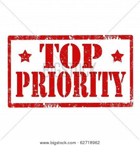 Top Priority-stamp