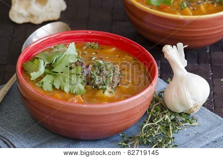 Lamb And Root Vegetable Soup