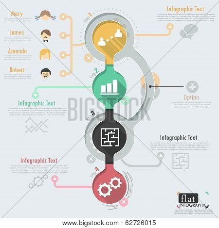 Flat Infographic Design