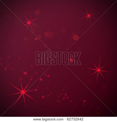 Dark red background