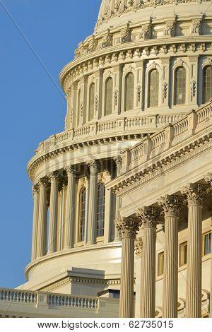 Capitol building architectural details