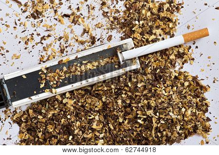 Cigarette Tube And Hand Held Injector