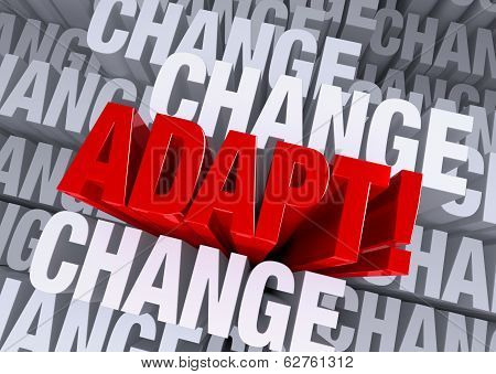Adapt When Surrounded By Change