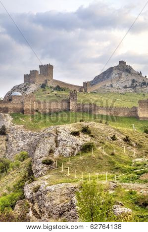 Genoese Fortress. Sudak. Crimea