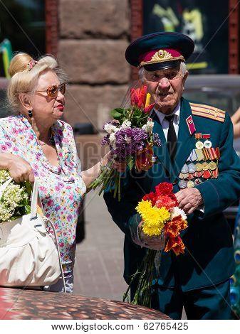 Parade Victory At Kiev, Ukraine