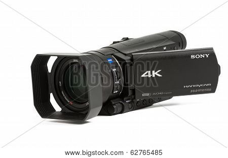 Sony Ax100 Prosumer 4K Video Camera