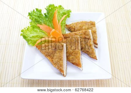 Thai Food Fish Cake