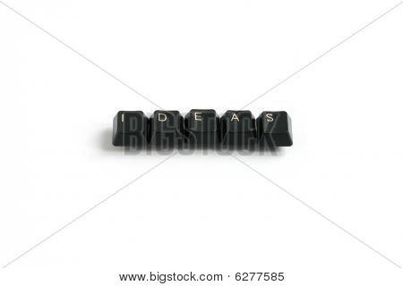 Ideas Written With Keyboard Keys