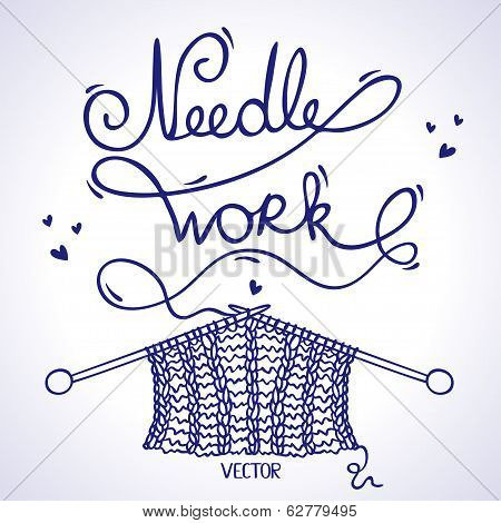 needlework knitting