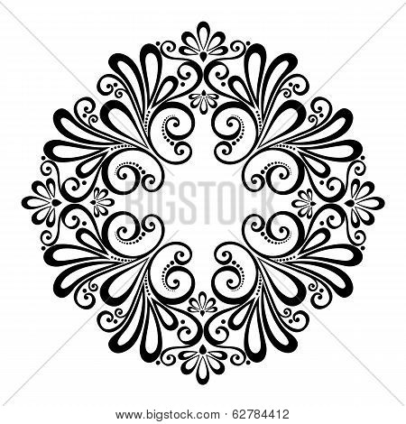 Beautiful Deco Circle (Vector)