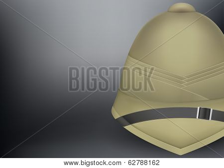 pith helmet hat for safari or explorer