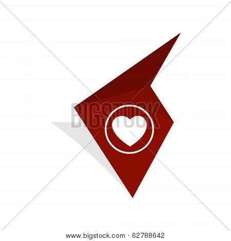 The Tag With Heart Icon
