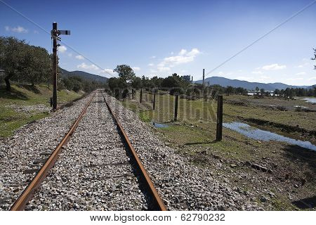 Abandoned railway line from Córdoba to Almorchón