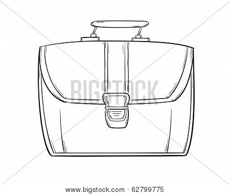 Sketch Of The Briefcase