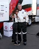 LOS ANGELES - APR 1:  Vanessa Marcel, Eric Braeden at the Toyota Grand Prix of Long Beach Pro/Celebr