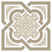 picture of arabic  - Arabic seamless pattern - JPG